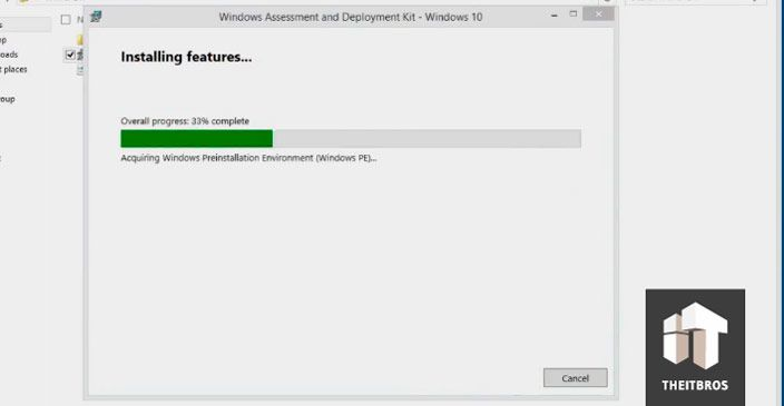 installing windows ADK
