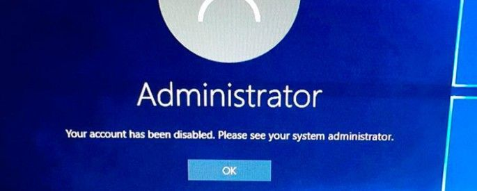 windows 10 administrator
