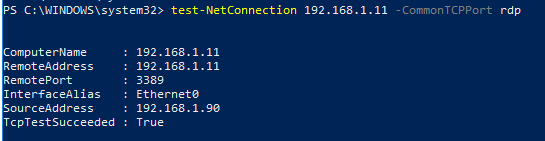 enable rdp remotely powershell
