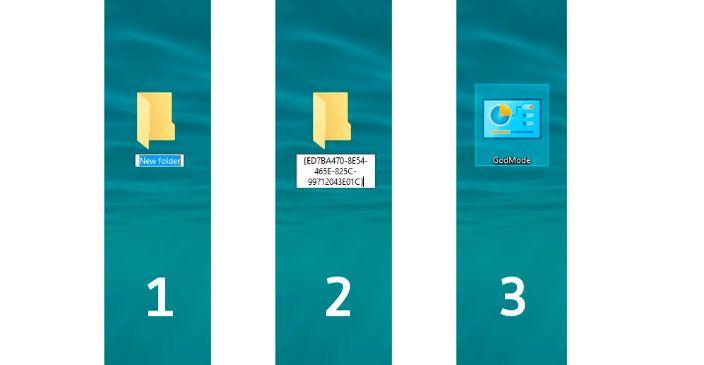 god mode windows 10 folder