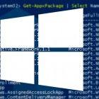 list installed apps windows 10