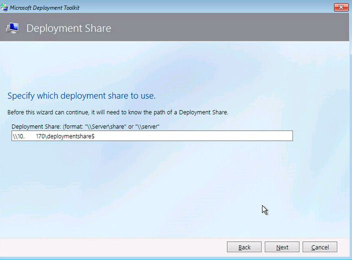 ms deployment toolkit share