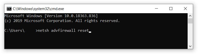 windows 10 default firewall rules