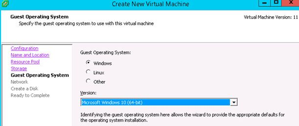 OS virtual machine
