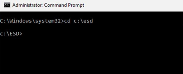 convert install.esd to wim