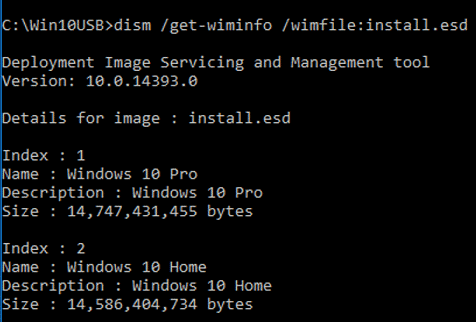 How to Convert ESD to WIM File on Windows 10? – TheITBros