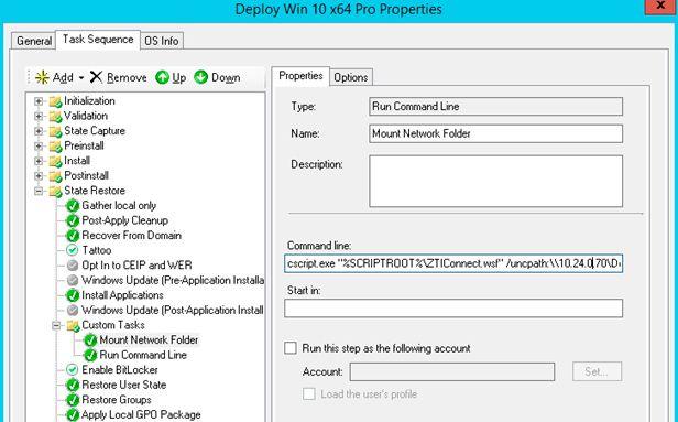 mount network folder