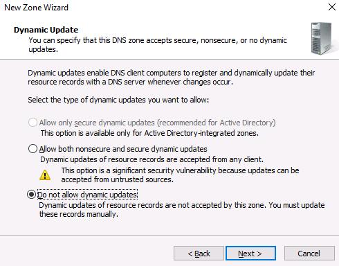 installing DNS