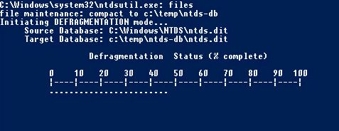 defragmentation powershell