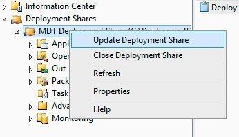install updates offline wsus mdt