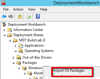 Integrate WSUS Offline Updater with MDT 2013 to Deploy