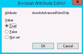 active directory boolean