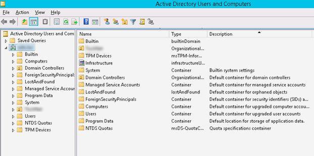 active directory organisational