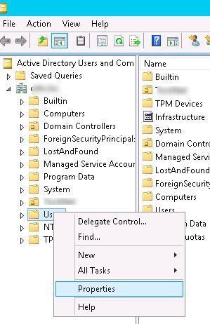 active directory properties