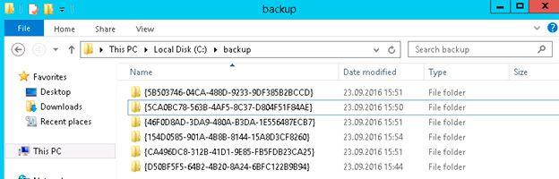 gpo backup list