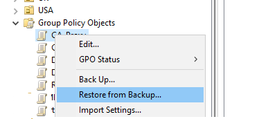 how to backup gpo