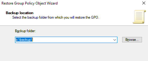 how to backup gpo server