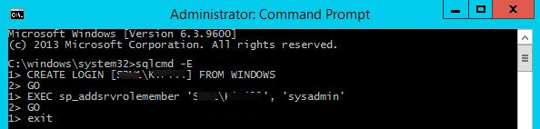 how to reset sa password in sql server 2012