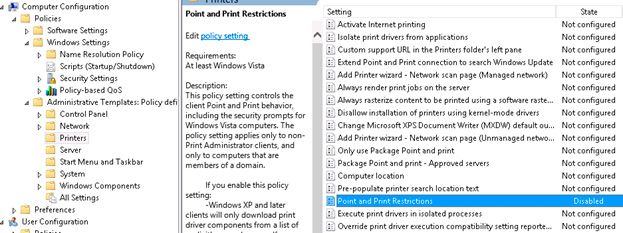 how to allow users to install printer drivers