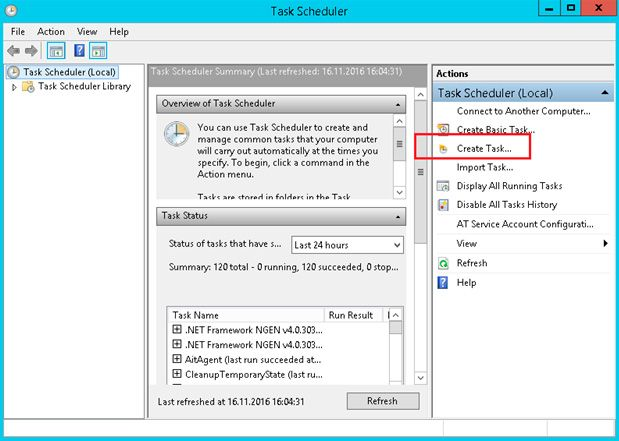 task scheduler powershell