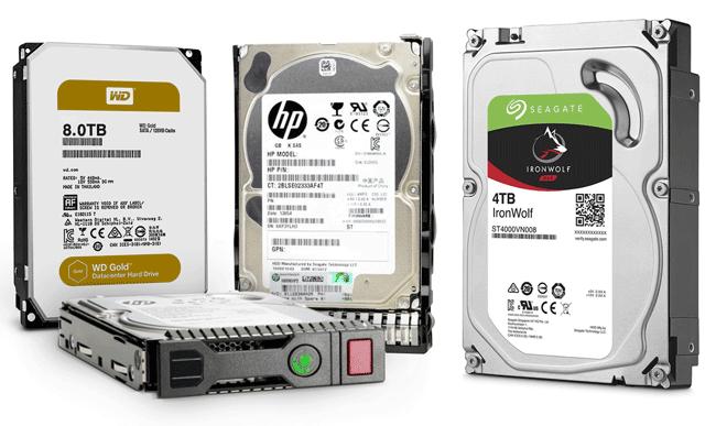 choose hard drive