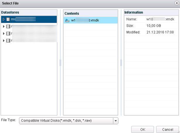 datastores vmware
