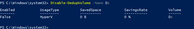 windows server 2016 data deduplication