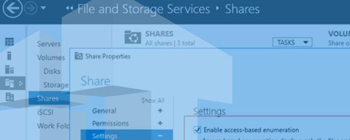 access based enumeration windows_server