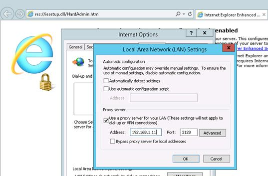 internet explorer 11 gpo proxy