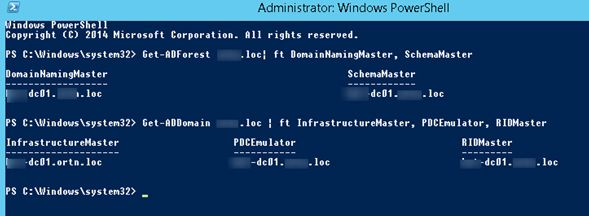 how to get the active directory powershell