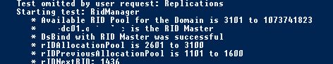 rid master role