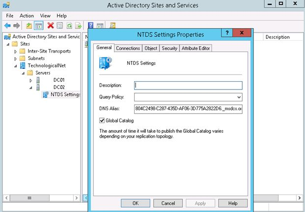 global catalog active directory