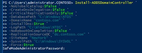 install adds domain controller