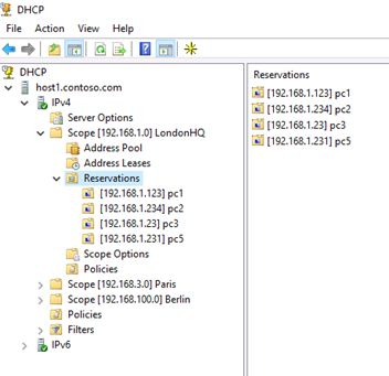 migrate dhcp server