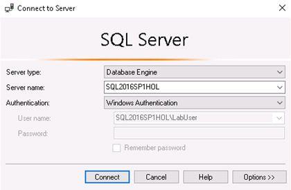 sql server connect