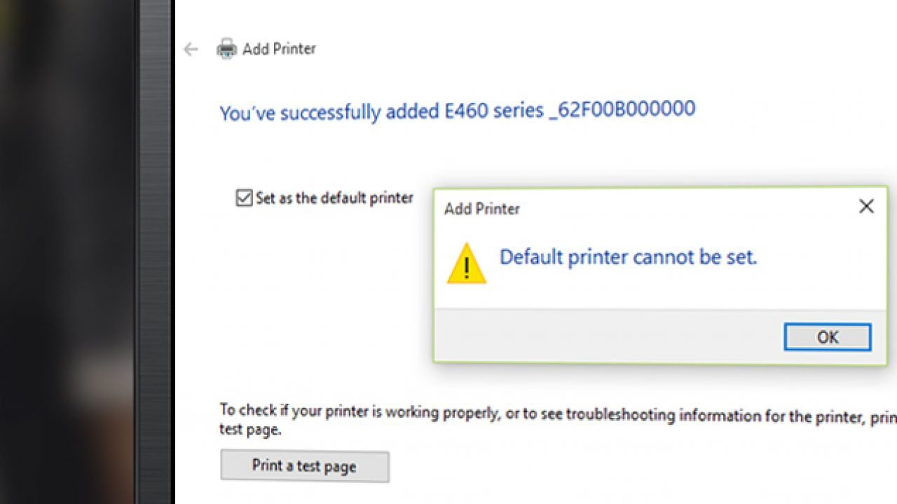 How to Force Windows 10 to Set Up Default Printer? – TheITBros