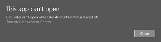 uac account control
