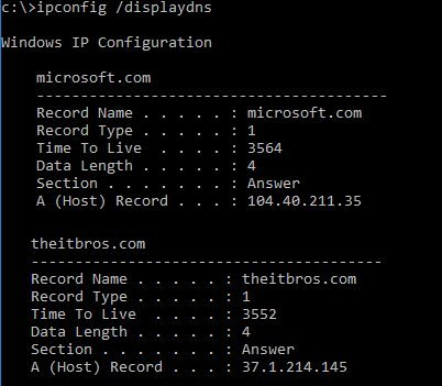 How to Flush DNS Cache in Windows 10 – TheITBros