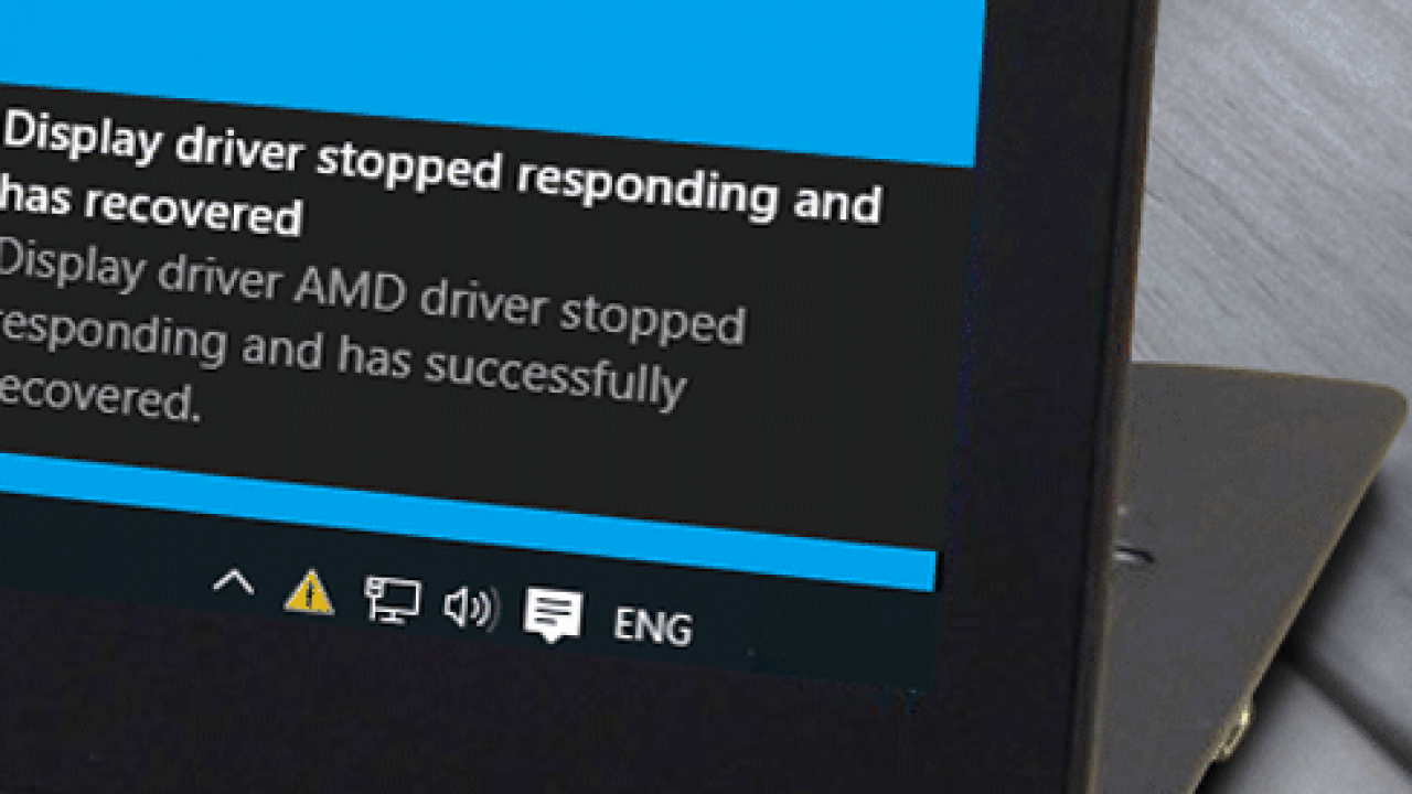 Display Driver Stopped Responding and Has Recovered – TheITBros