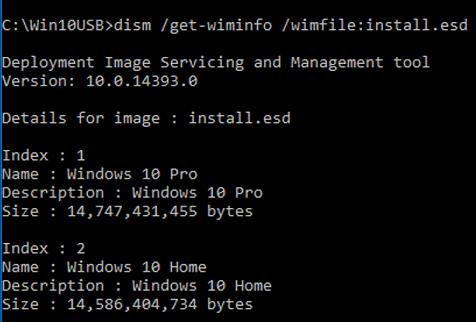 install.esd vs install.wim