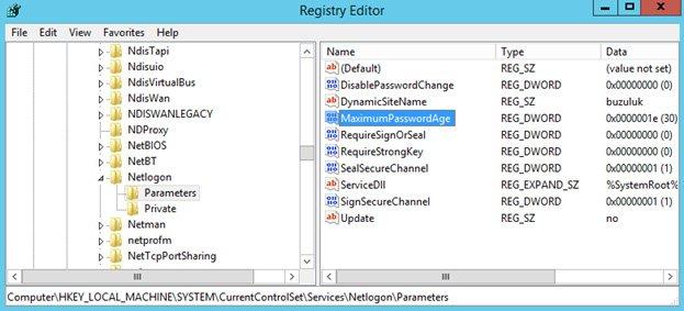 reset-computermachinepassword