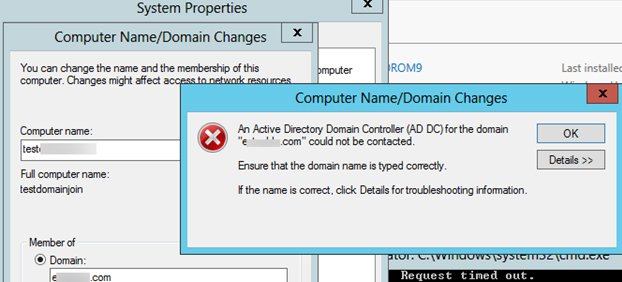 active directory domain services wont start