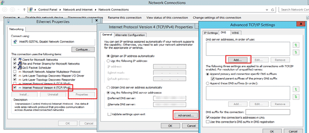 an active directory domain cannot be contacted