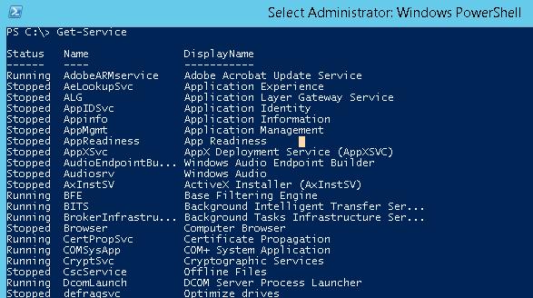 get-service remote computer