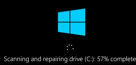 chkdsk repair