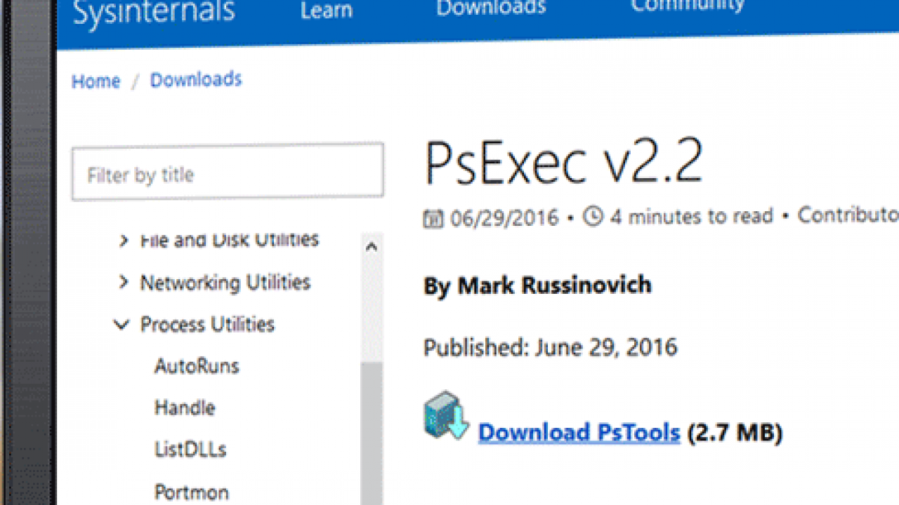 Using PsExec to Run Commands Remotely – TheITBros