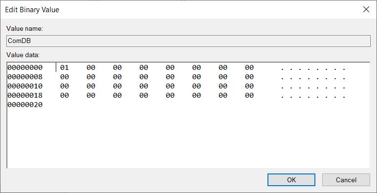 delete com ports