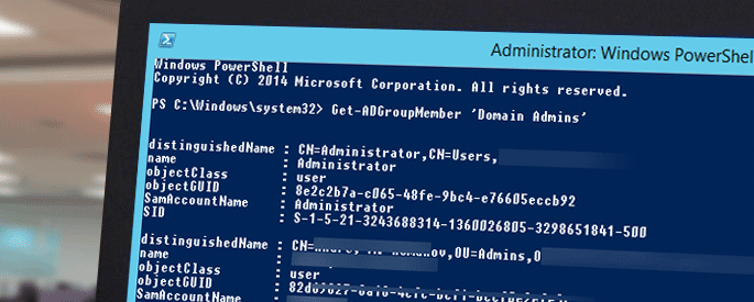 extract group members from active directory