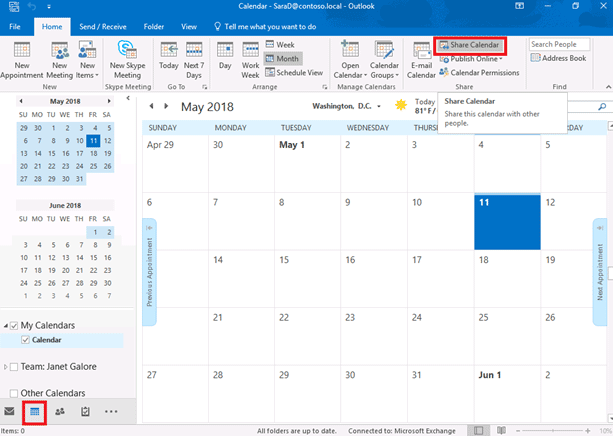 how to share outlook calendar   u2013 theitbros