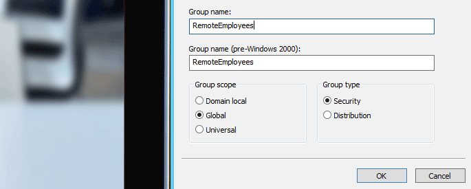 active directory groups